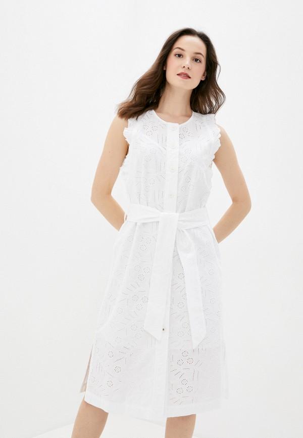 женское повседневные платье tommy hilfiger, белое