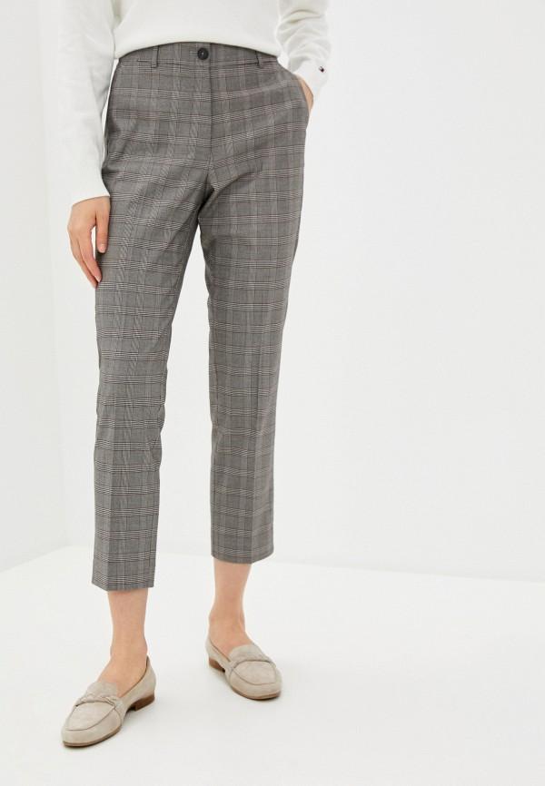 женские классические брюки tommy hilfiger, серые