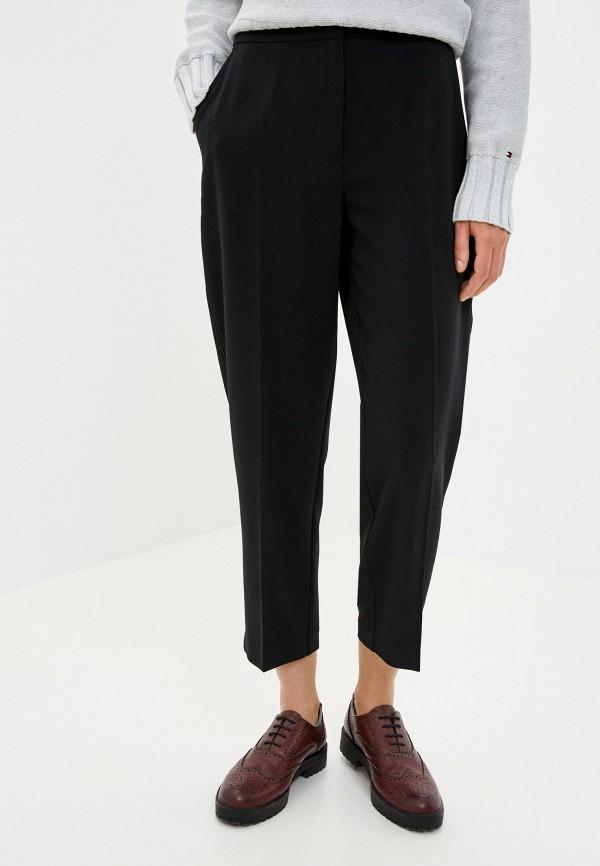 женские классические брюки tommy hilfiger, черные