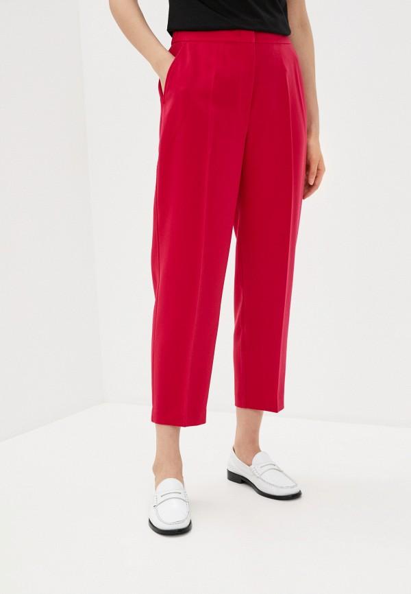 женские повседневные брюки tommy hilfiger, розовые