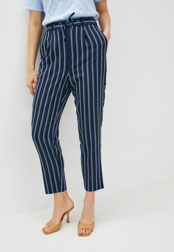 женские брюки джоггеры tommy hilfiger, синие