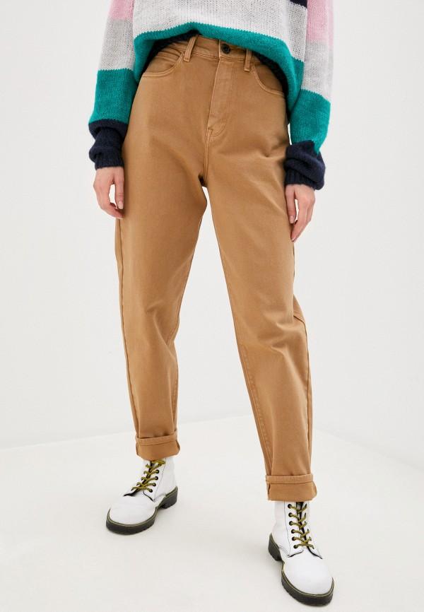 женские повседневные брюки tommy hilfiger, бежевые