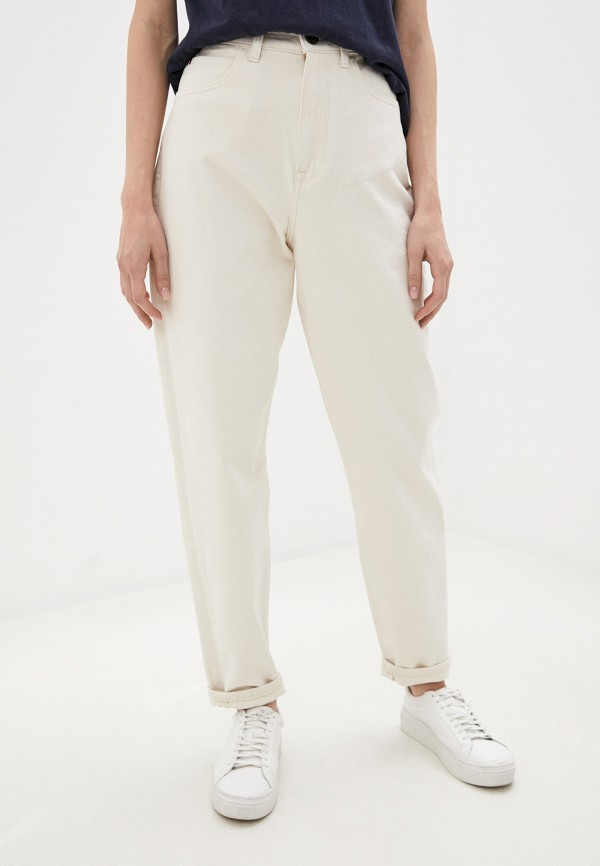 женские джинсы-мом tommy hilfiger, белые