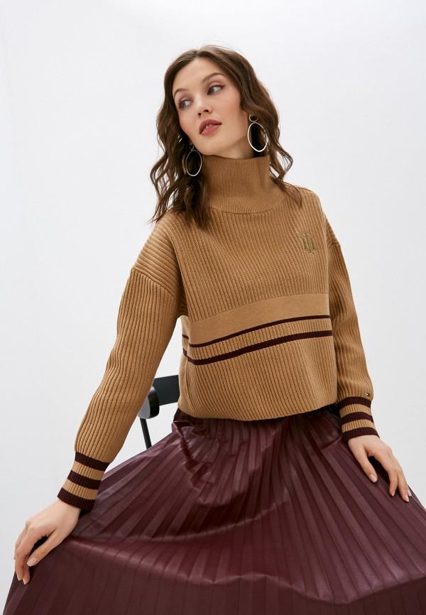 женский свитер tommy hilfiger, бежевый