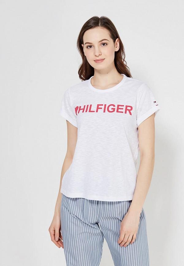 Купить Футболку домашняя Tommy Hilfiger белого цвета