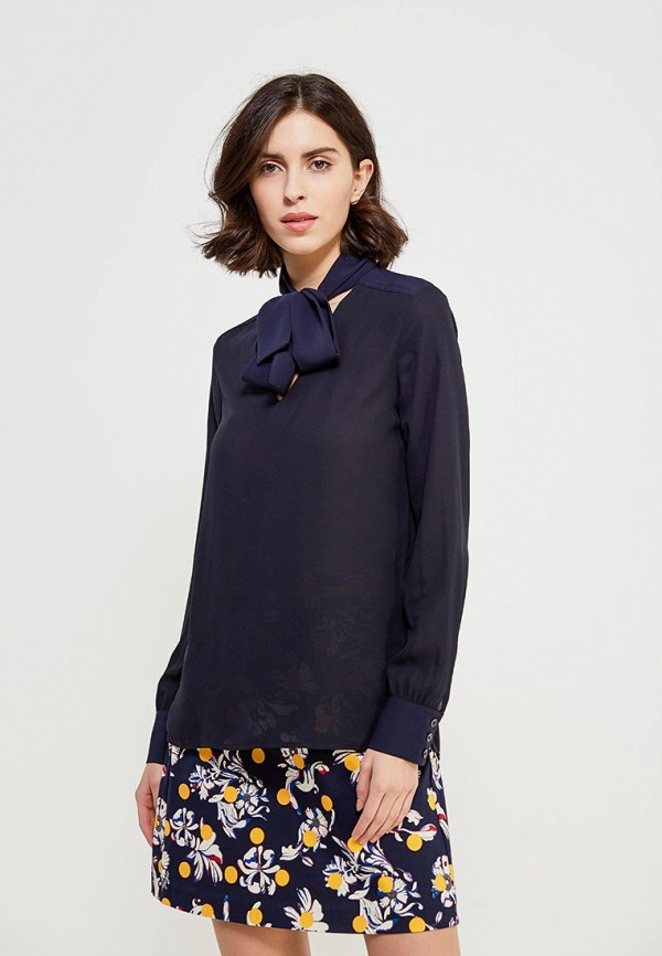Блуза Tommy Hilfiger Tommy Hilfiger TO263EWZFV91 блуза tommy hilfiger ww0ww16824 116 penny floral prt snow white estate blu