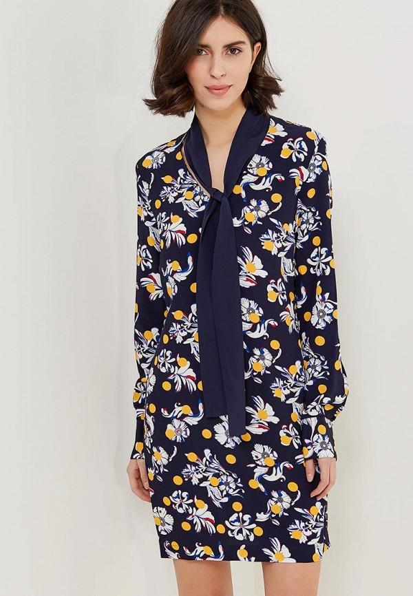 Купить Женское платье Tommy Hilfiger синего цвета