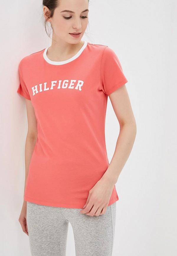 Купить Футболка домашняя Tommy Hilfiger, to263ewzgq71, розовый, Весна-лето 2018