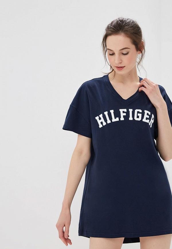Купить Платье домашнее Tommy Hilfiger, TO263EWZGS41, синий, Весна-лето 2018