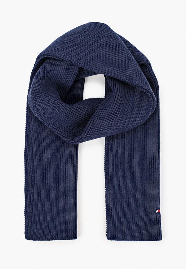 шарф tommy hilfiger малыши, синий