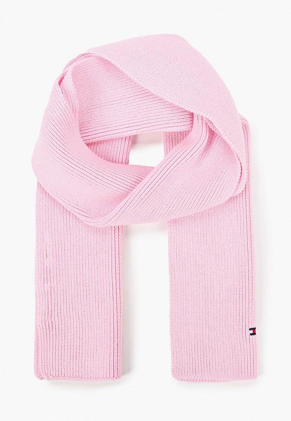 шарф tommy hilfiger малыши, розовый