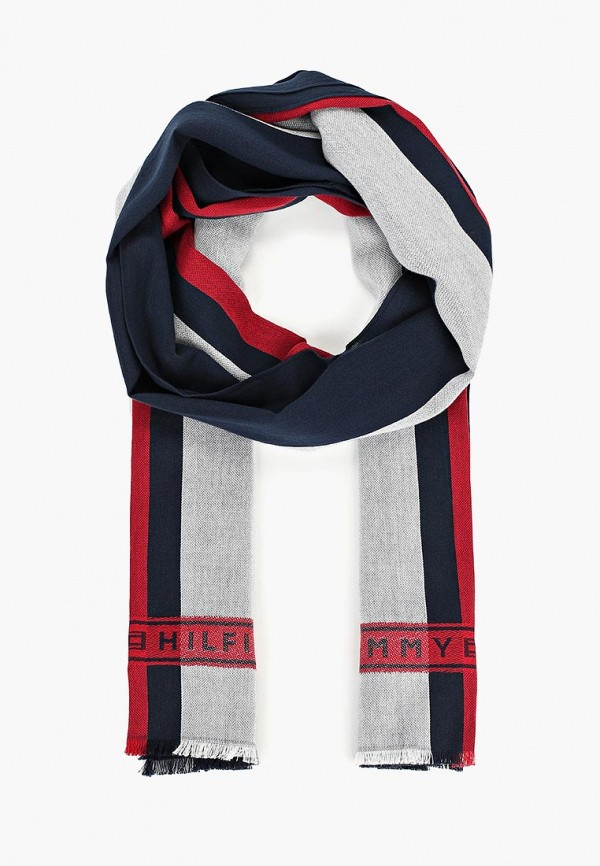 Шарф Tommy Hilfiger Tommy Hilfiger TO263GMDDZJ6 поло tommy hilfiger tommy hilfiger to263embhpz3