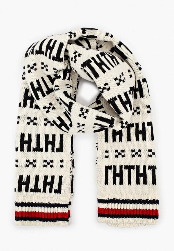 мужской шарф tommy hilfiger, разноцветный