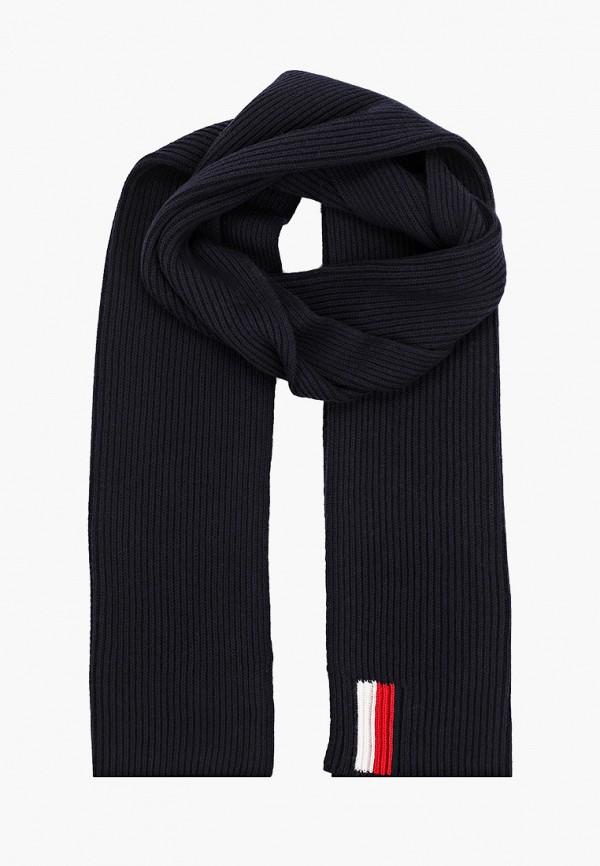 мужской шарф tommy hilfiger, синий