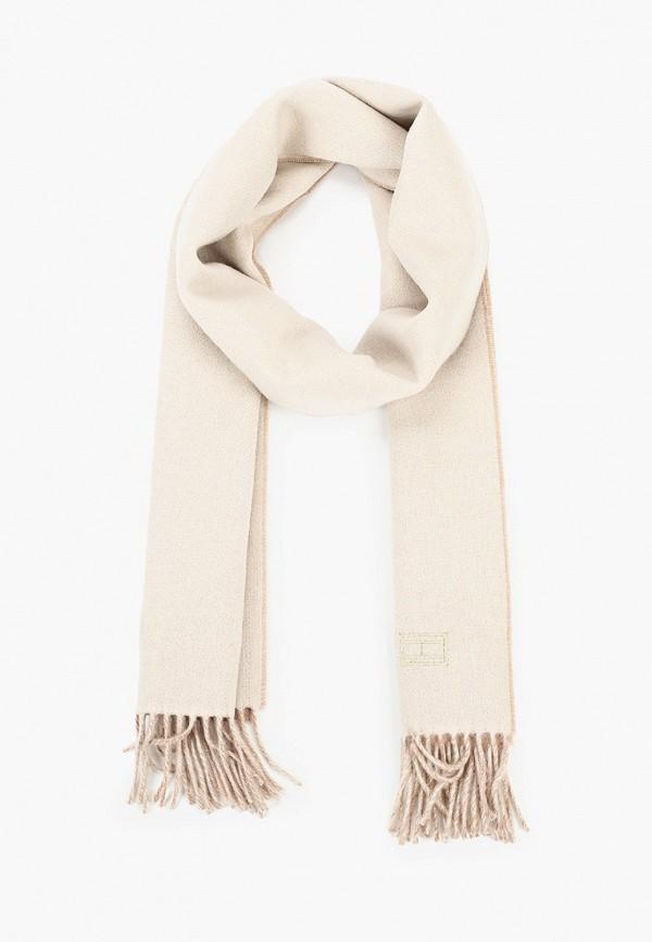 женский шарф tommy hilfiger, разноцветный