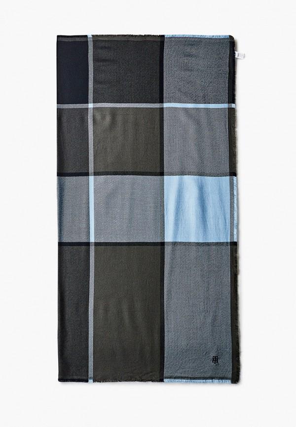 женский платок tommy hilfiger, синий