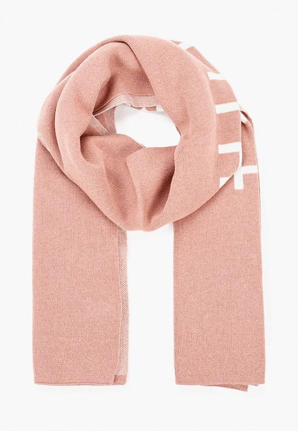женский шарф tommy hilfiger, розовый