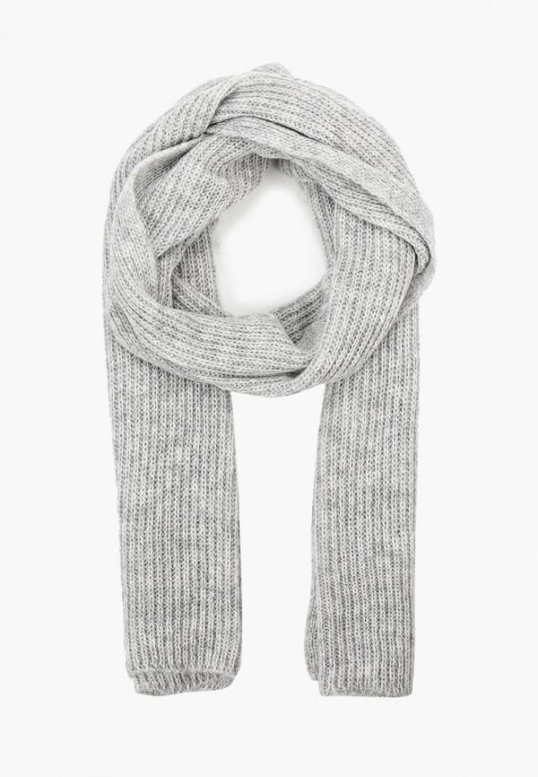 женский шарф tommy hilfiger, серый