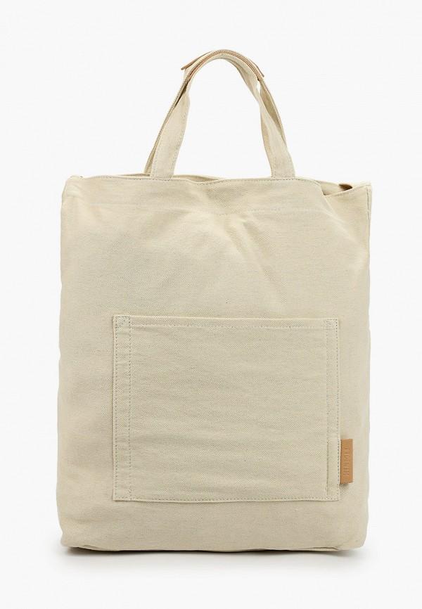 женская сумка tom tailor, бежевая