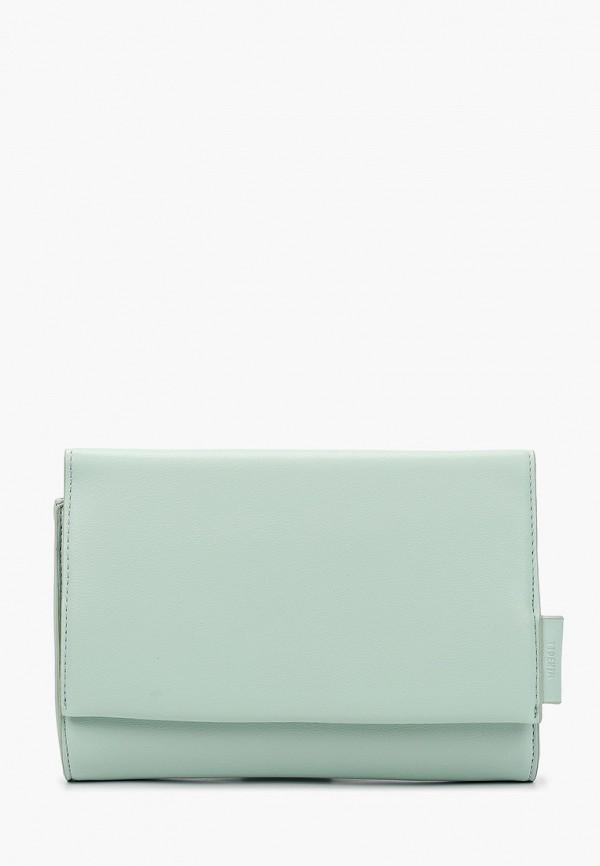 женская сумка tom tailor, зеленая