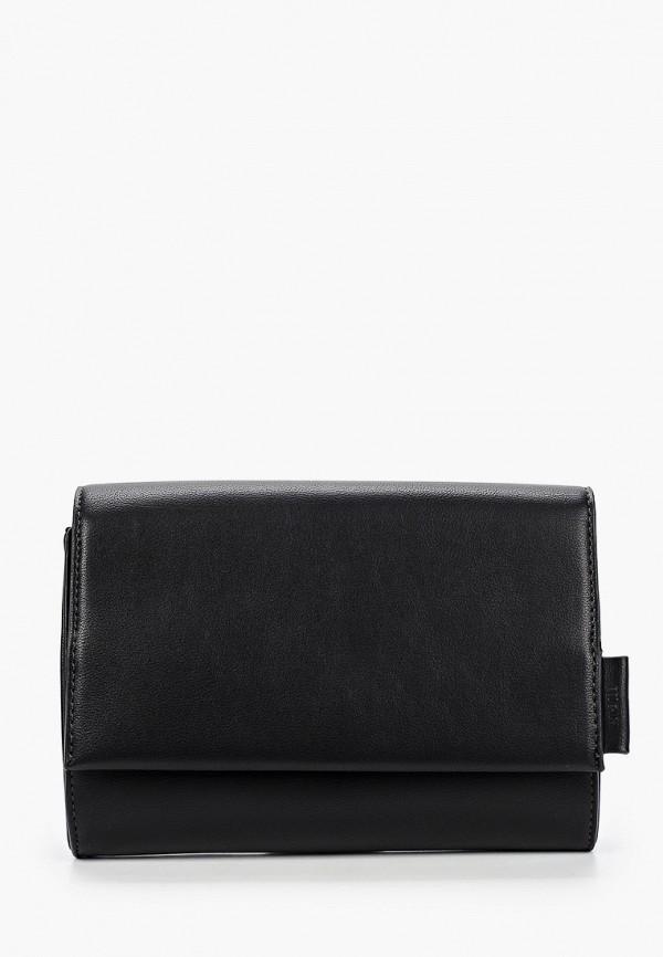 женская сумка через плечо tom tailor, черная
