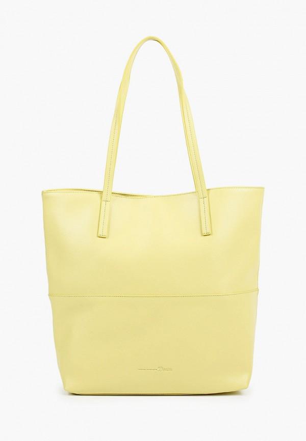 женская сумка tom tailor, желтая