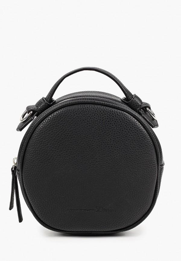 женская сумка с ручками tom tailor, черная
