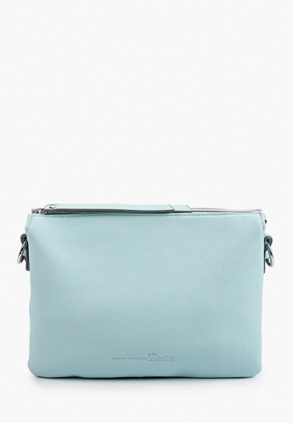 женская сумка через плечо tom tailor, разноцветная