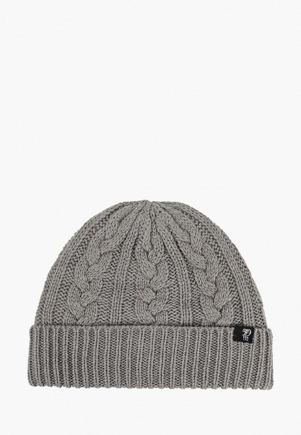 мужская шапка tom tailor, серая