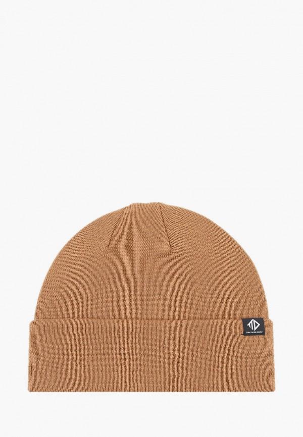 мужская шапка tom tailor, бежевая