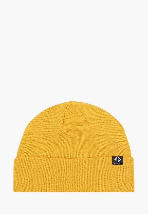 мужская шапка tom tailor, желтая