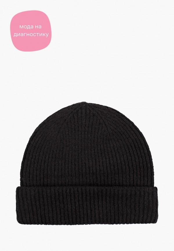 женская шапка tom tailor, черная