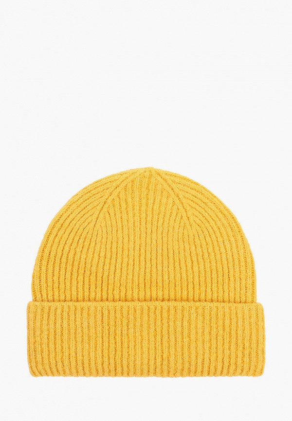 женская шапка tom tailor, желтая