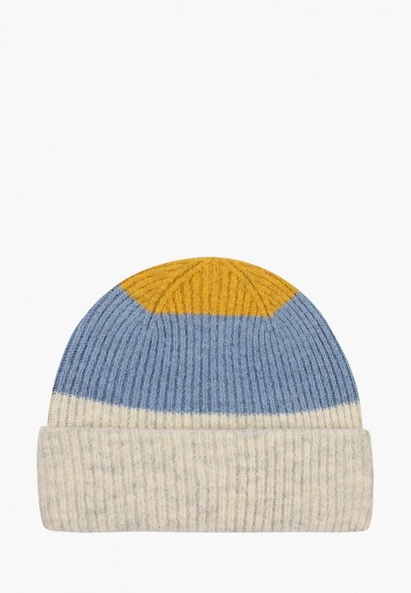 женская шапка tom tailor, разноцветная