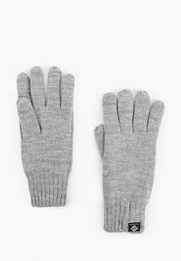 мужские перчатки tom tailor, серые