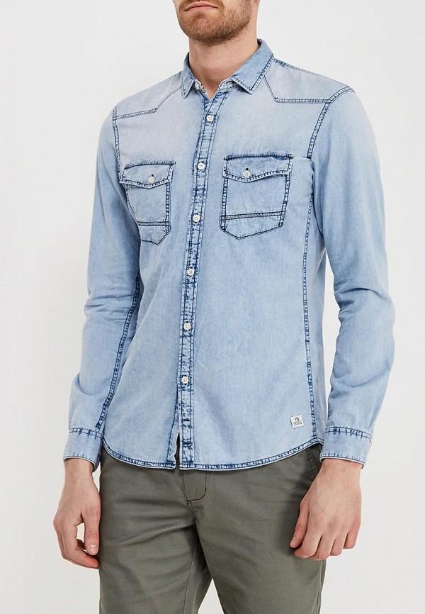 Рубашка джинсовая Tom Tailor Denim Tom Tailor Denim TO793EMACPA4 юбка джинсовая tom tailor tom tailor to172ewchkg6
