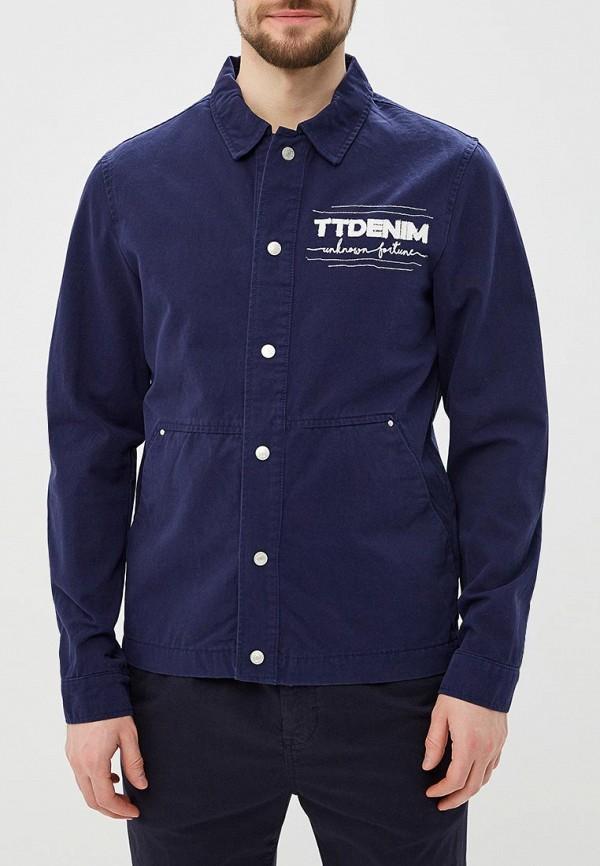 Куртка джинсовая Tom Tailor Denim Tom Tailor Denim TO793EMATWP2 куртка tom tailor denim 1003184 11148