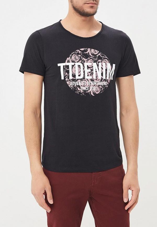 Футболка Tom Tailor Denim Tom Tailor Denim TO793EMBJAV0 bison denim vintage designer 100