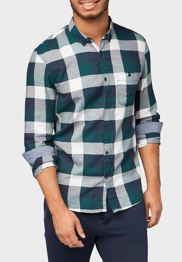 Рубашка Tom Tailor Denim Tom Tailor Denim TO793EMBXEM2 рубашка джинсовая tom tailor denim tom tailor denim to793emacpa4