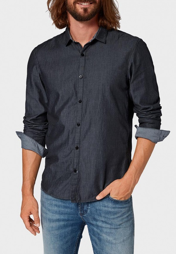 Рубашка Tom Tailor Denim Tom Tailor Denim TO793EMCJQS2 рубашка tom tailor denim tom tailor denim to793embjax4