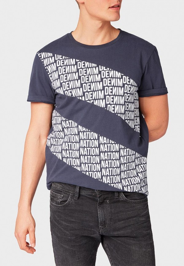 Футболка Tom Tailor Denim Tom Tailor Denim TO793EMDRES7 футболка tom tailor denim 1055467 99 12 6811