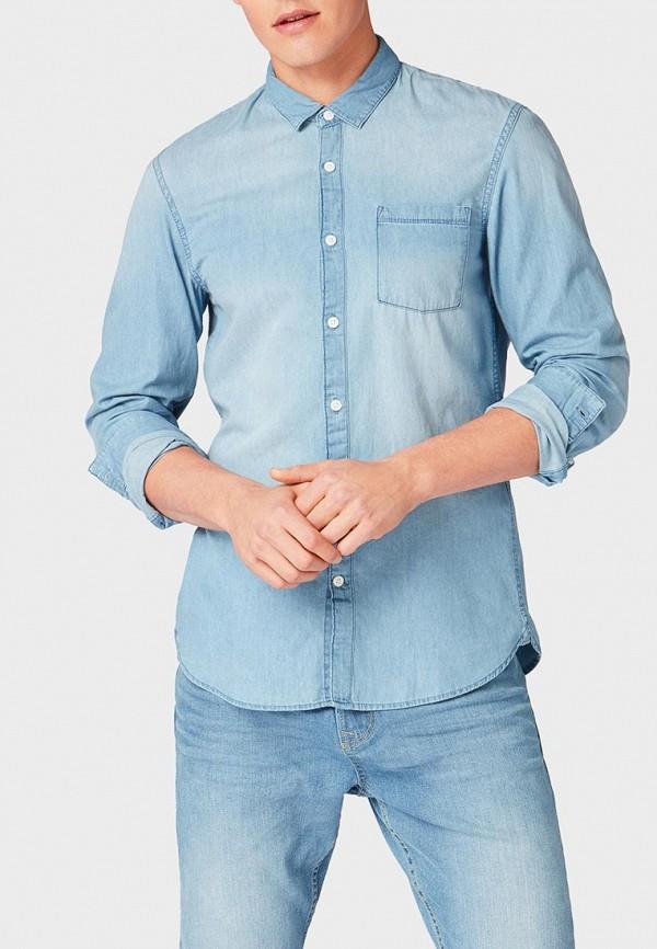 Рубашка джинсовая Tom Tailor Denim Tom Tailor Denim TO793EMDTDU2 рубашка джинсовая tom tailor denim tom tailor denim to793emacpa4