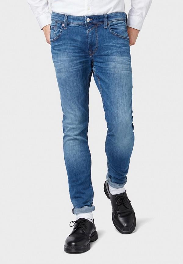 мужские зауженные джинсы tom tailor, фиолетовые