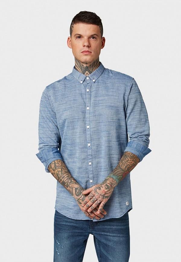 Рубашка Tom Tailor Denim Tom Tailor Denim TO793EMDTJK9 рубашка мужская tom tailor denim цвет голубой белый светло серый 2033793 00 12 6695 размер m 48