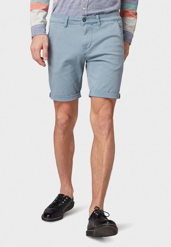 Фото - мужские шорты Tom Tailor Denim голубого цвета