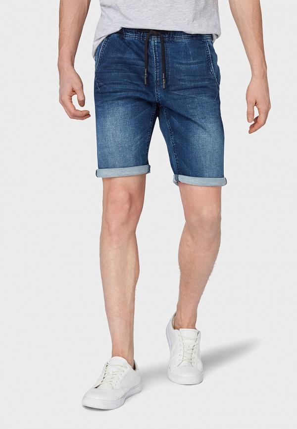 мужские шорты tom tailor, синие