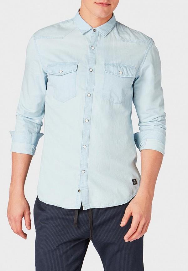 Рубашка джинсовая Tom Tailor Denim Tom Tailor Denim TO793EMDTPS3 рубашка джинсовая tom tailor denim tom tailor denim to793emacpa4