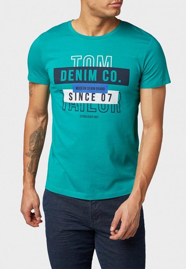 Футболка Tom Tailor Denim Tom Tailor Denim TO793EMEOUW7 рубашка tom tailor denim tom tailor denim to793emdtdu1