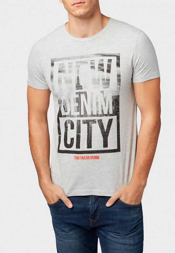 Футболка Tom Tailor Denim Tom Tailor Denim TO793EMEOUX5 футболка tom tailor denim tom tailor denim to793ewacpw5