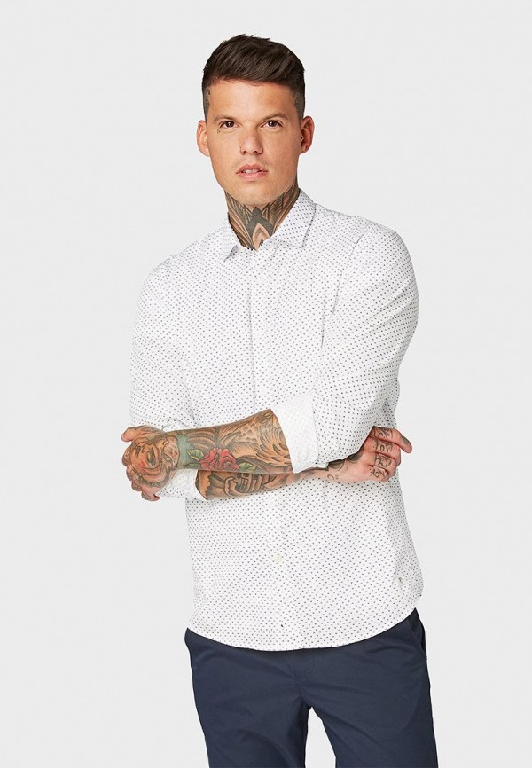Рубашка Tom Tailor Denim Tom Tailor Denim TO793EMFEFI7 рубашка tom tailor denim tom tailor denim to793emdtdu1